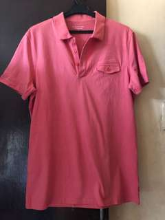 Pink Polo Shirt for Men