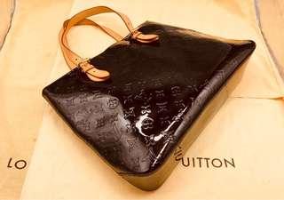 Louis Vuitton 酒紅色手袋 可裝文件 LV 100%正貨