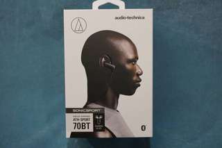 Audio-Technica ATH-SPORT70BT wireless earphones for sale