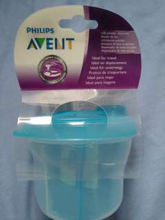 Philips Avent Milk Powder Dispenser Travel Snack Dispenser