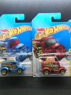 Hotwheels Roller Toaster Die-cast Cars Set of 2