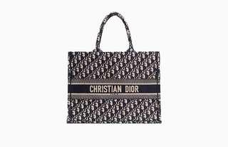Dior Monogram tote bag