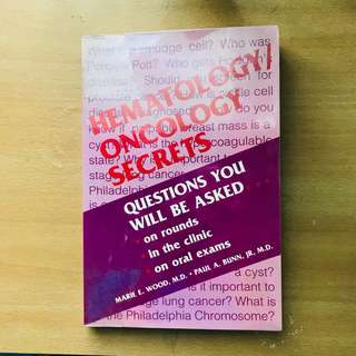 Hematology/Oncology Secrets