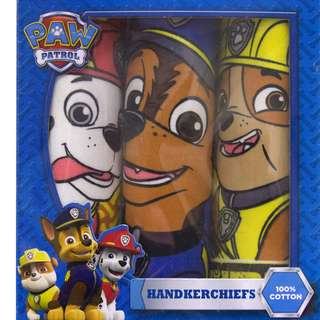 Paw Patrol Handkerchief Set of 3