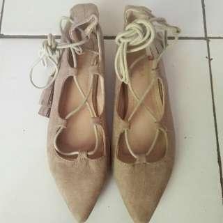 Zalora Sepatu Flat Balet