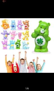 12pcs/set Care Bears Figurine Miniature