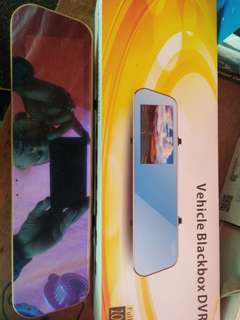Dvr black box touch screen cctv kereta