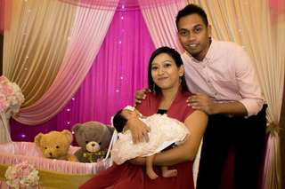 Baby shower photography service