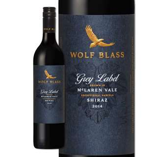 Wolf Blass Grey Label Mclaren Vale Shiraz 2014