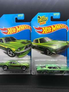 Hotwheels HW City Die-Cast Setof 2 Mustang & Riviera