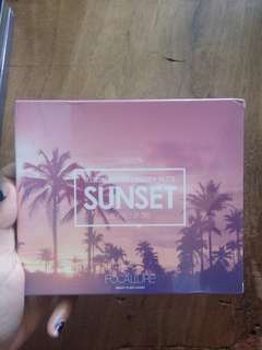 Eyeshadow pallete focallure sunset dan burning