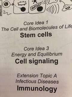 🚚 H2 Biology School Notes