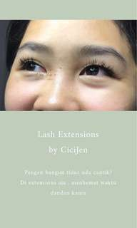 Eye Lash Extensions by Cicijen
