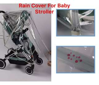 (Ready Stock) Rain Cover