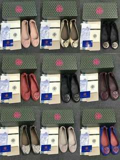 Tory Burch shoes on SALE Available sizes6-10. Complete inclusions