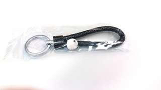 Brown key ring 深啡色編織鎖匙扣