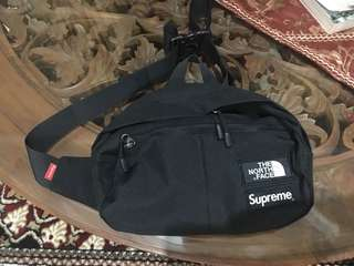 Supreme x The North Face 3M Waist bag Black