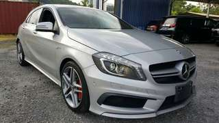 Mercedes Benz A45 AMG 4Matic Unregister