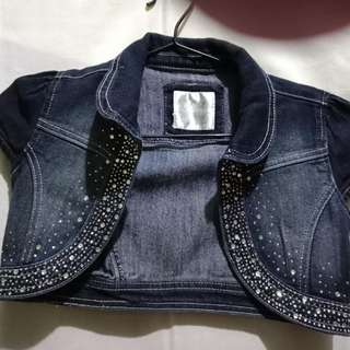 Studded Bolero Jacket for Girls 7-10 yrs. old