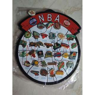 NBA Collector's Pins set (Selling as one set only. Best offer please)