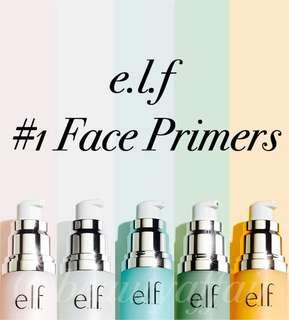 ❄️ e.l.f. ❄️ Face Primers