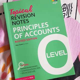 Topical revision notes principles of accounts