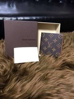 Louis Vuitton bifold men's wallet