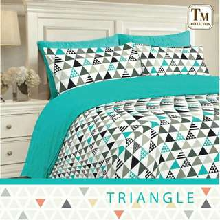 Sprei Homemade Triangle Kecil