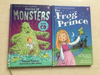 Usborne Young Reading Bookset Of 2