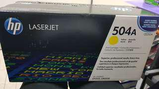 Hp colour Toner yellow CE252A