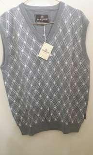 Sweater Vest Grey M/L