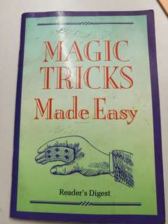 Magic Tricks Made Easy
