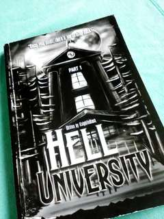 Hell University Book1 Part1 by KIB (wattpad published book)