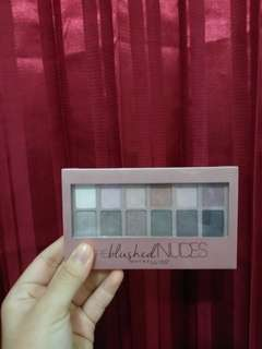 Maybelline The Blushed Nudes Eyeshadow Palttes