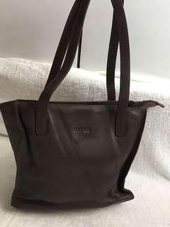 Genuine leather manels bag