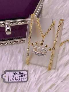 Saudi Gold 18K Crown