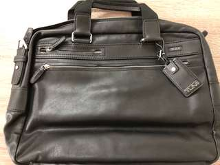 Tumi Leather Bag