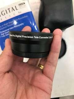 Tele Converter 2.0x 52mm
