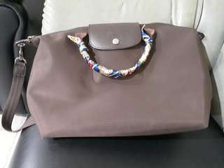 PreLoved Medium Size Long Handle Bag (Longchamp Brand)