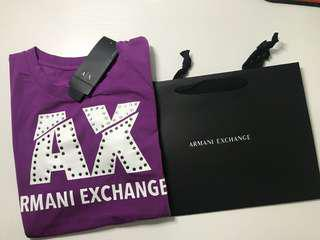 A/X armani T- shirt 👚, size s,100% new