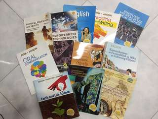 K-12 Books for Grade 11 - 12
