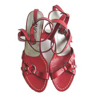 Mango Red Heels
