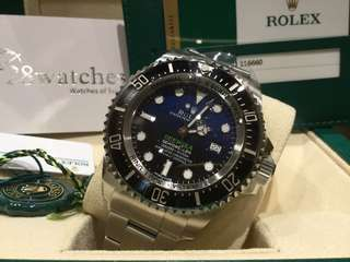 Rolex Deep Sea Blue 二手行貨