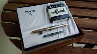 Parker Sterling Silver Fountain Pen