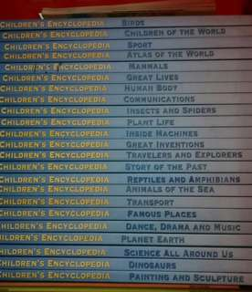 Children Encyclopedia Set