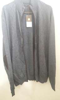 Wood Jacket Grey All Size