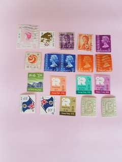 殖民地時代郵票19個