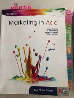 Marketing in Asia Third Edition