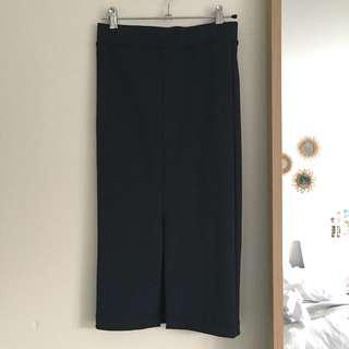 Bardot midi skirt