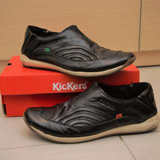Kickers Slip On Black